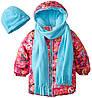 Куртка демисезонная/ евро зима на девочку 5-6 лет Pink Platinum (СШA)