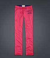 Спортивные штаны  A&F розовые