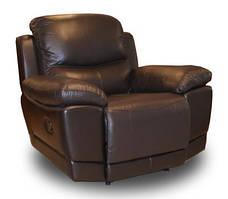 Кожаное кресло с реклайнером Montana (110 см), фото 3