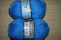 Yarnart Alpine Maxi - 668 голубой
