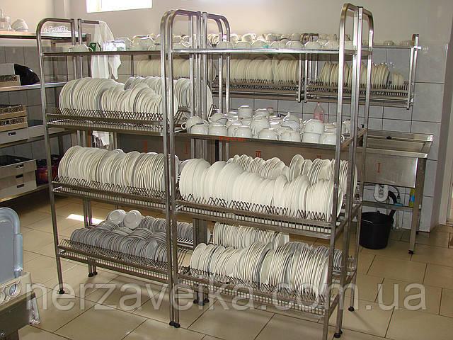 Тележка для сбора посуды