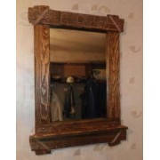 Деревянные зеркала из состаренной сосны ручной работы