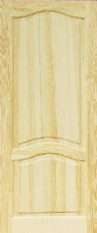 Дверное полотно модель М8 глухое сосна