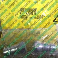 Штуцер AR94522 быстроразъемный Hydr. Quick Coupler Plug 811-394C зап/части John Deere ar94522 ПАПА