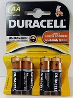 Батарейки Duracell LR6 AA