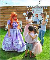 Аниматор Принцесса София и волшебный  детский праздник, Киев.