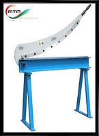 Гильотинные ножницы для точной и быстрой резки металла HS-1000 ММ 1000x1.5