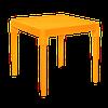 Пластиковый стол детский светло-оранжевый