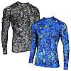 Компрессионная спортивная кофта Radical Furious LS (original), мужской рашгард, футболка с длинным рукавом
