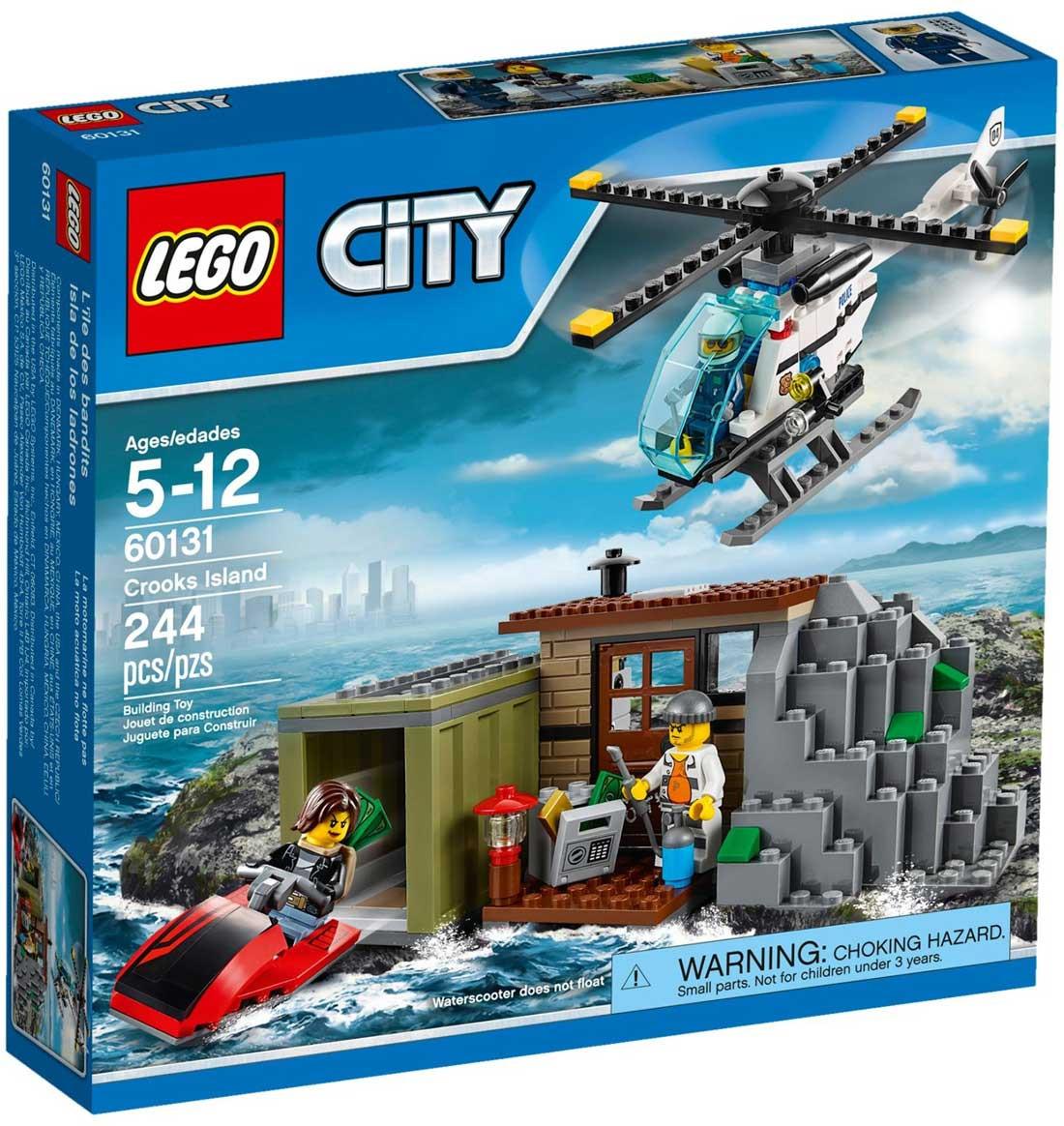 LEGO 60131 City - Острів злодюжок (Лего Сити ) Остров воришек