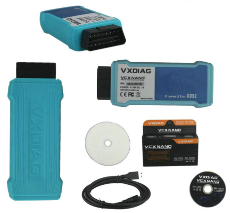 Диагностический интерфейс VXDIAG VCX Nano GM/Opel