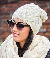 Купить вязаные зимние шапки и шарфы на сайте galbery.com