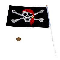 Пиратский флаг, 150 см - 90 см