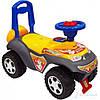Машинка-каталка Alexis-Babymix 7600 yellow