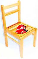 Стульчик детский деревянный Тачки