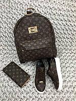 Набор: сумка, кошелек, обувь, палантин LV