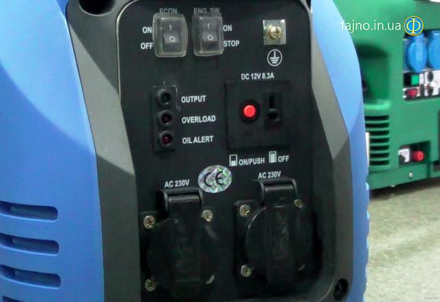 Инверторный генератор Weekender 3500i фото 4