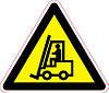 Наклейка: Внимание Автопогрузчик 150х130