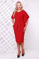 Платье Vlavi Кармен (48-56) Бордо, фото 1