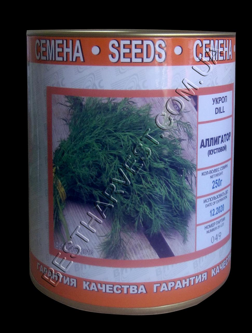 Семена укропа «Аллигатор» (кустовой) 250 г, инкрустированные (Vitas)