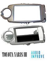 Переходная рамка TOYOTA Toyota Yaris (XP13) 10/2011 - 07/2014 1 Din 2 Din