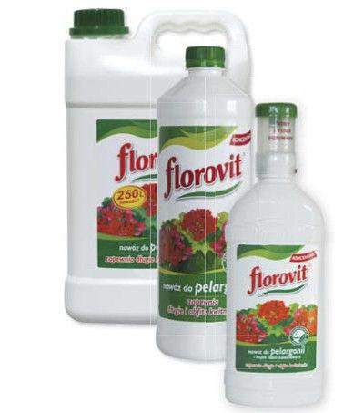 Флоровит (удобрение для пеларгонии) 0,5 л с дозатором