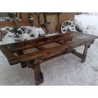 Дизайнерский стол под старину от производителя по приемлимым ценам