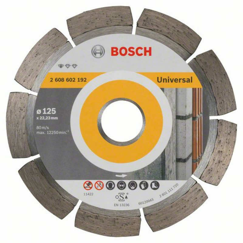 Алмазный диск Bosch Professional for Universal 125-22,23
