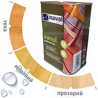 Водоотталкивающее масло для террас и садовой мебели ISAVAL 0,75л=5м2