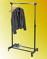 """Стойка для одежды одинарная, с полкой для обуви """"J-1204"""" (длина перекладины 82 см)"""