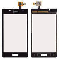 Сенсорный экран для мобильных телефонов LG P700 Optimus L7, P705 Optimus L7, черный