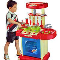 Детская кухня-чемодан (008-58А) свет.звук