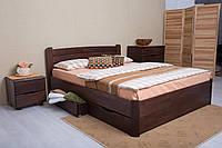 Кровать София 2,0м бук с ящиками