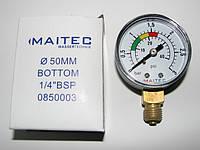 """Манометр радиальный MAITEC (1/4"""") 0 - 3 НР"""