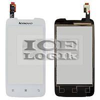 Сенсорный экран для мобильного телефона Lenovo A390T, белый