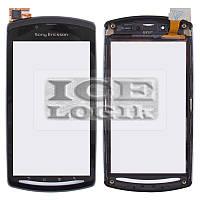 Сенсорный экран для мобильных телефонов Sony Ericsson R800, Z1, с передней панелью, черный