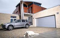 Секционные ворота гаражные, панорамные, промышленные