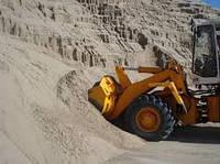 Речной песок 5 тонн с доставкой по Днепру