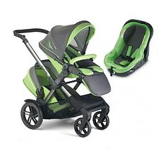 Детская коляска для двойни 2 в 1 Jane TWONE MATRIX
