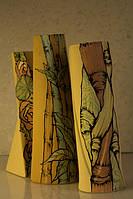 Керамическая ваза средняя с рисунком Ассорти