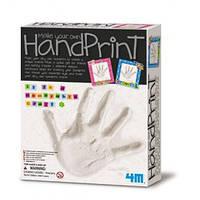 Отпечаток руки с рамочкой
