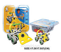 Пластиковый конструктор (2 модели машин)