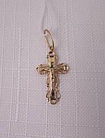 Крестик золотой с распятием (арт. ДКР1)
