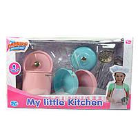Детский нержавеющий кухонный набор, 9 предметов