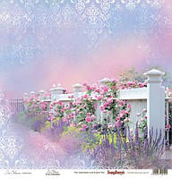 Бумага для скрапбукинга Цветущий Сад Scrapberry's, 1 шт