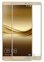 Защитное стекло Tempered Glass 3D Full Cover Huawei Mate 8 Gold