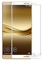 Защитное стекло Tempered Glass 3D Full Cover Huawei Mate 8 White