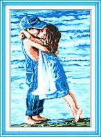 Вышивка Детский поцелуй 2