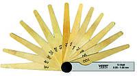 Щупы латунные 0,05-1,00 мм, 100 мм, 20 лезвий