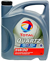 Масло TOTAL QUARTZ INEO ECS  5W-30   4л
